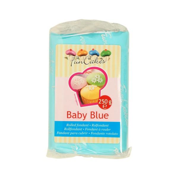 Fondant Baby Blue