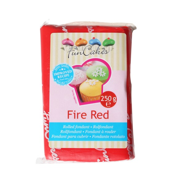 Fondant Fire Red