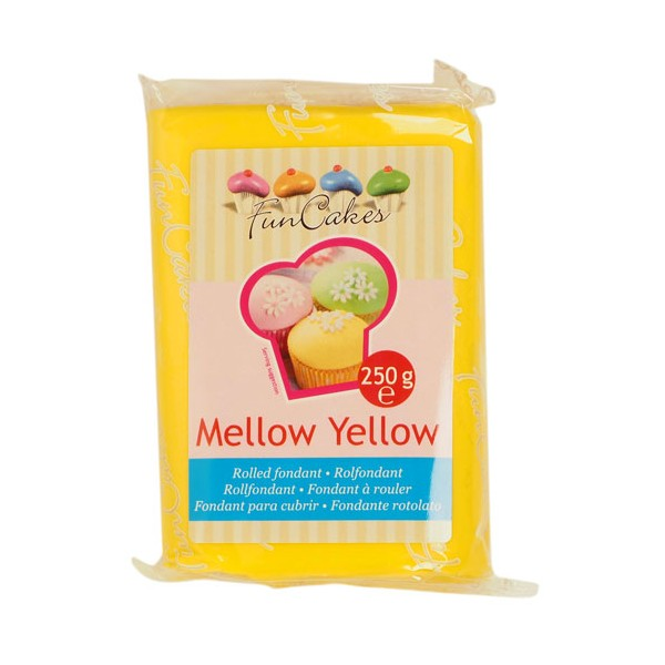 Fondant Mellow Yellow
