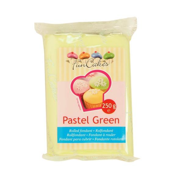 Fondant Pastel green