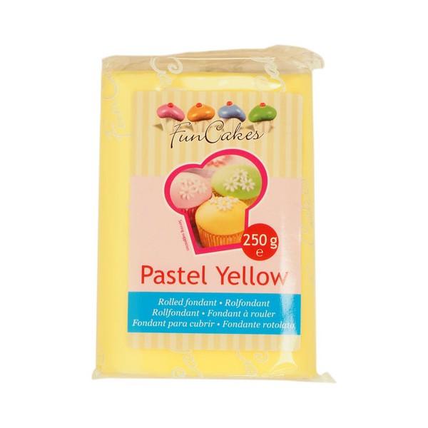 Fondant Pastel Yellow