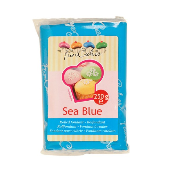 Fondant sea blue