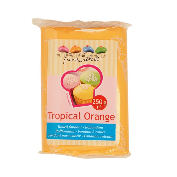 Fondant Tropical Orange