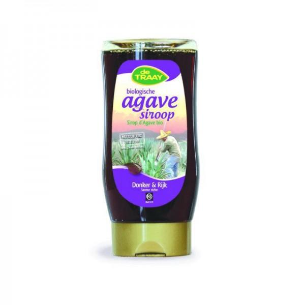 Bio agavesiroop donker & rijk