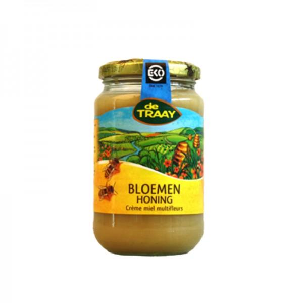 Bio bloemenhoning crème