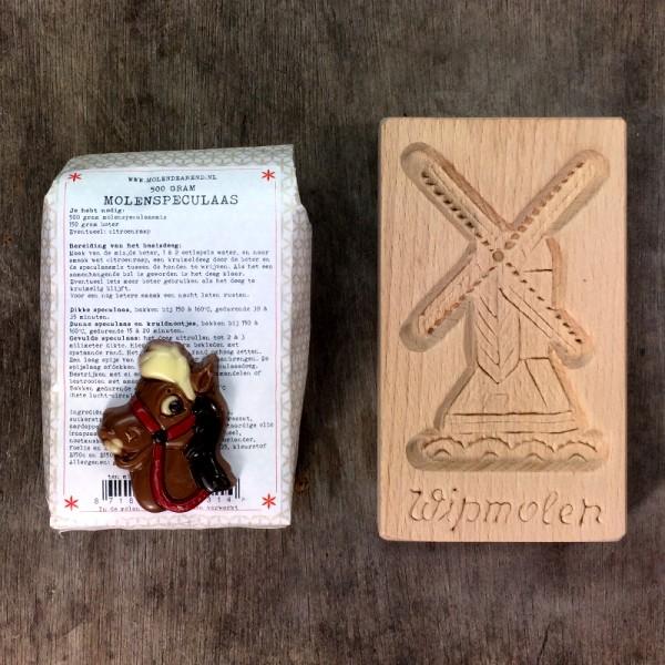 Sinterklaaspakketje speculaas
