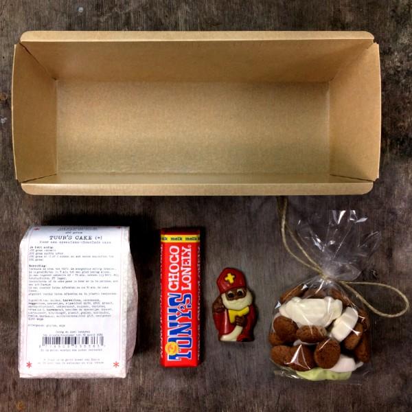 Sinterklaaspakketje cakemix