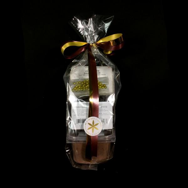Luxe chocoladetaart-pakket puur