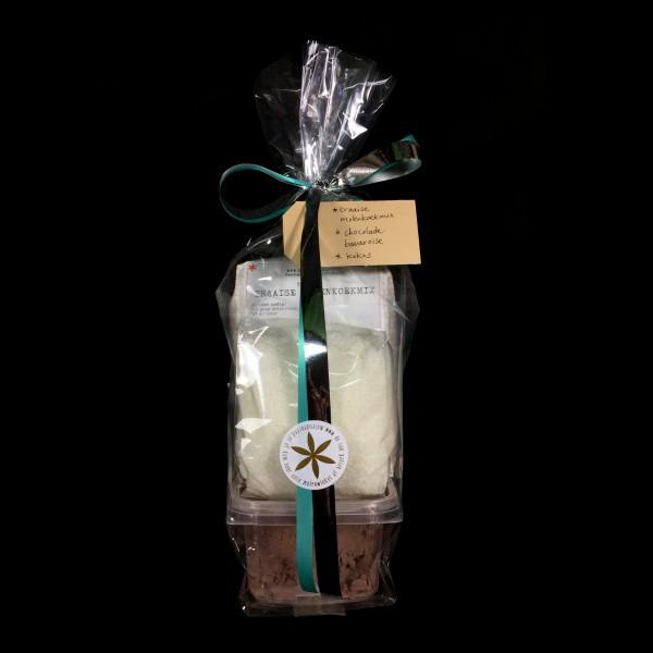 Bavaroisetaart-pakket hazelnoot chocolade