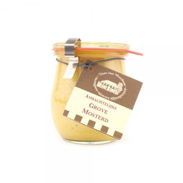 Ambachtelijke grove mosterd